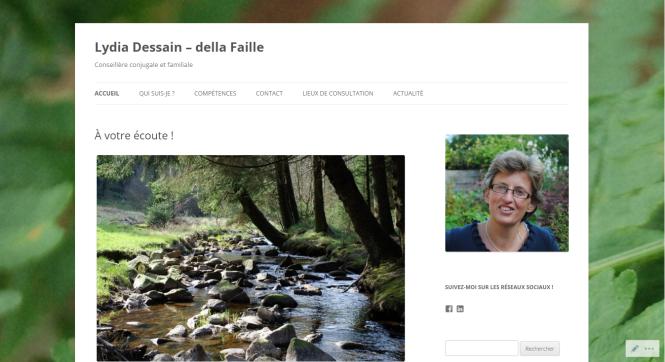 Lydia Dessain - Site 2015